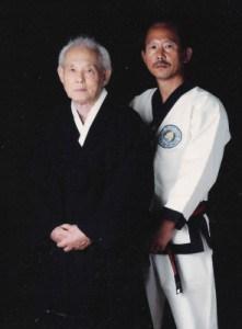Founder Hwang Kee and Kwan Jang Nim H.C. Hwang