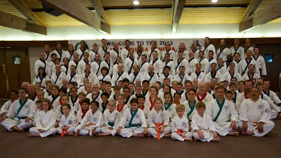 group shot at kdj shim sa 2013