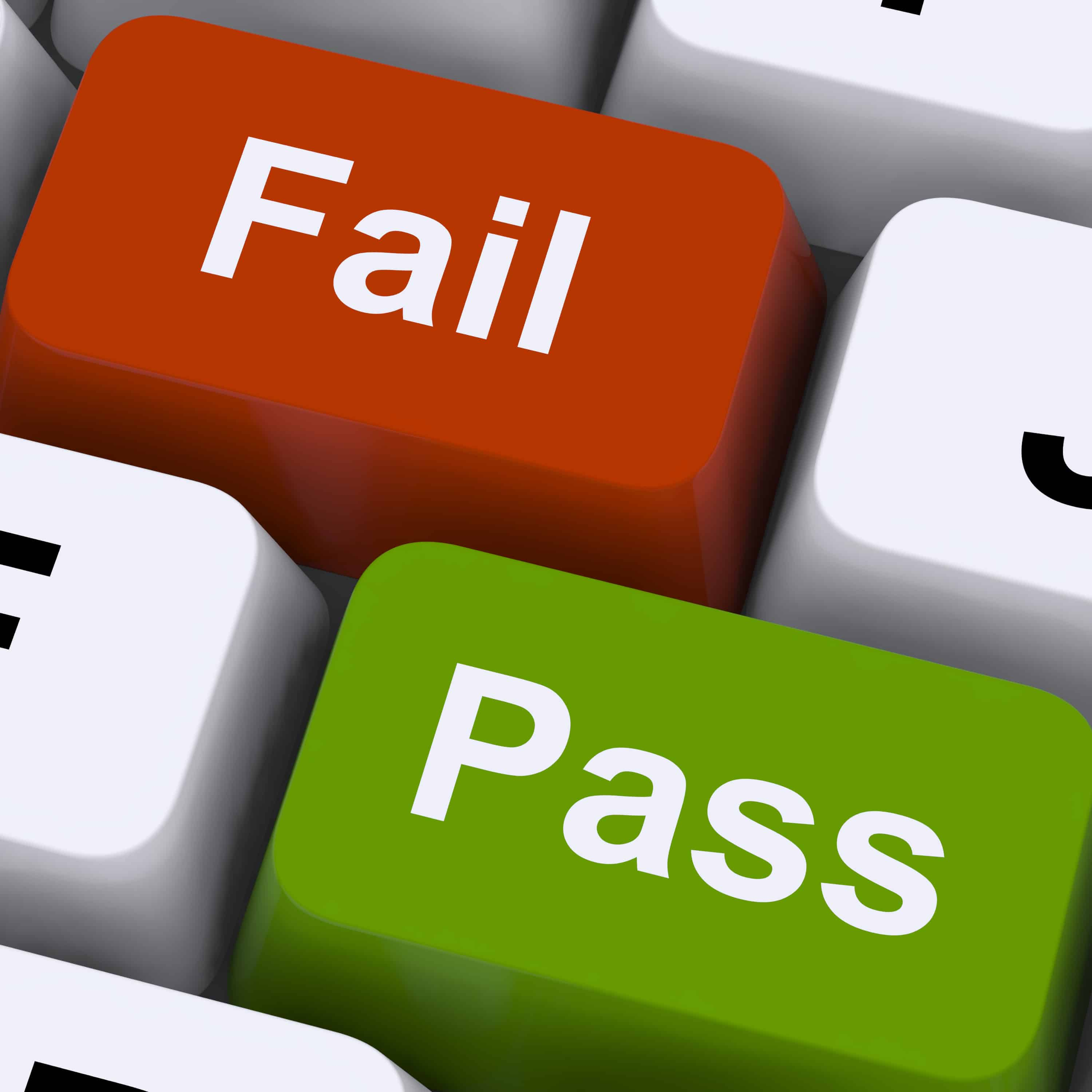 Quizzes - Pass Or Fail Keys To Show Exam Or Test Result