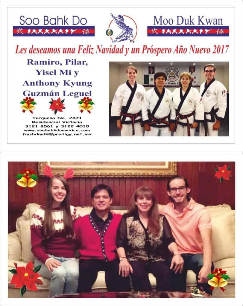 Holiday Greetings From Ramiro Guzman And Family