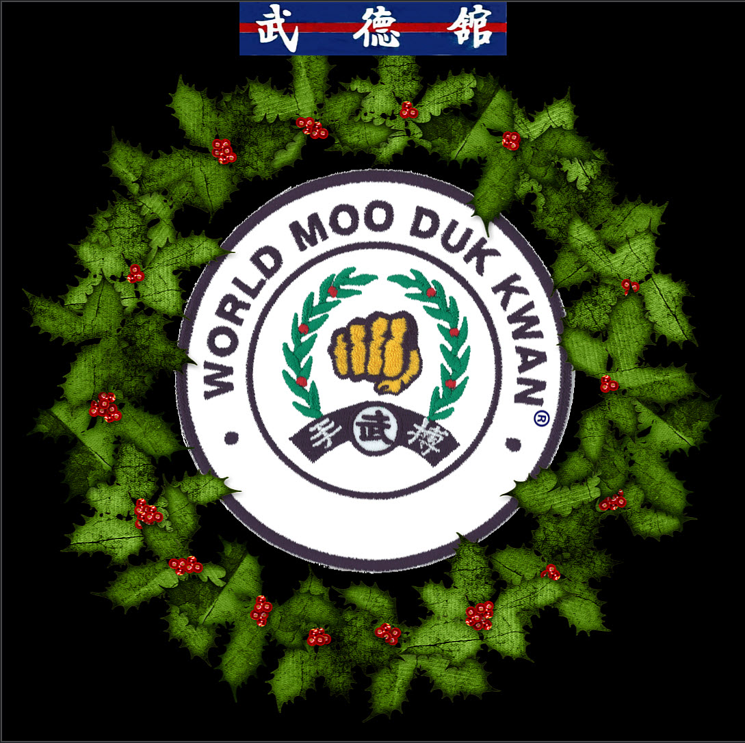 World Moo Duk Kwan Christmas Wreath