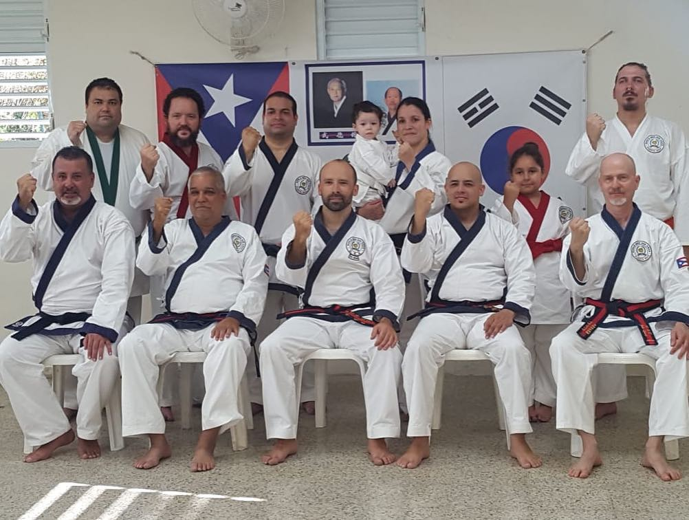 Master Jaime Lazu seated front row 2nd from the left.